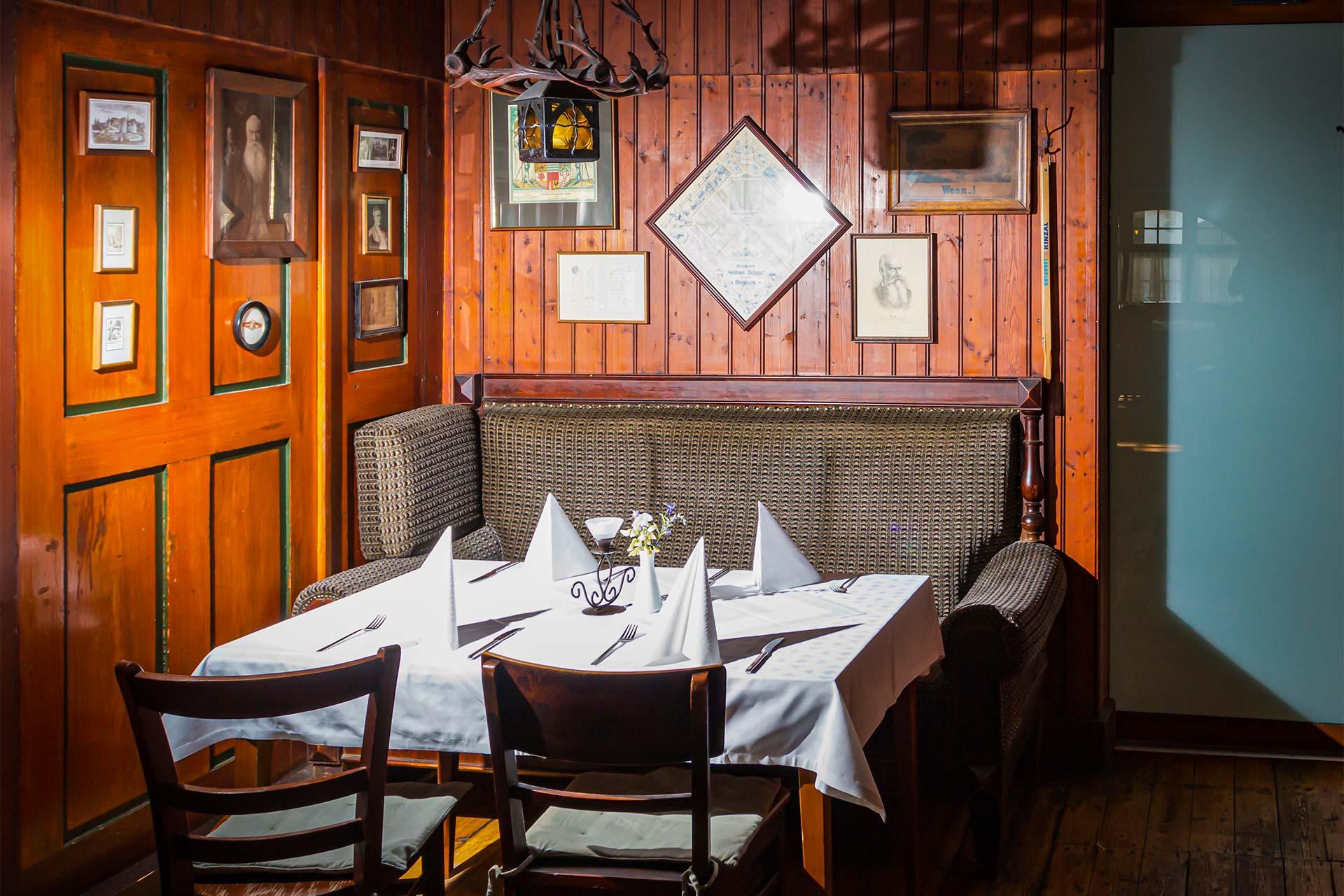 Restaurant - Gastraum Goldener Zwinger